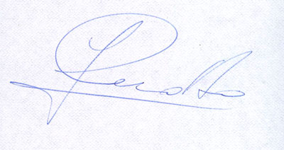 autograph JOHNNY CECOTTO_1