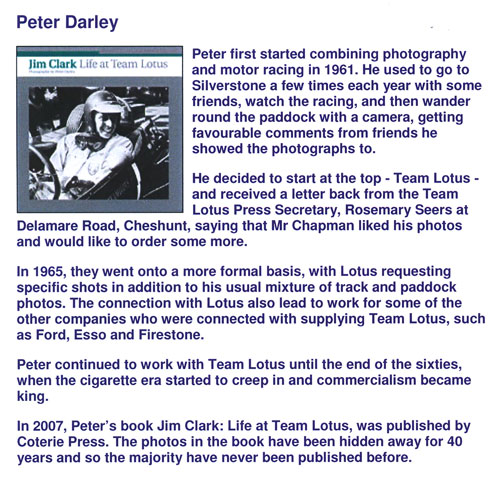 autograph Peter DARLEY_2
