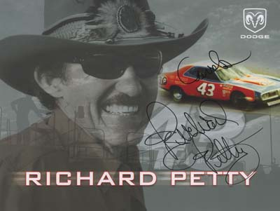 autograph Richard Petty_1