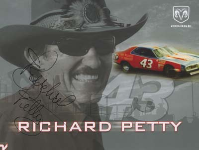 autograph Richard Petty_3