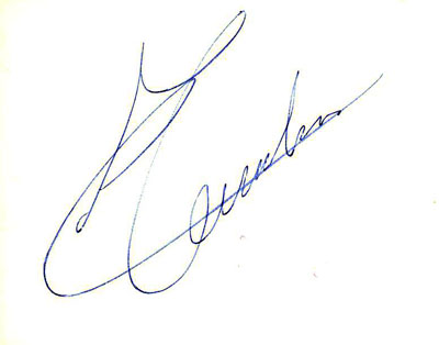 autograph CHRIS TUERLINX_2