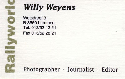 autograph WILLY WEYENS_3