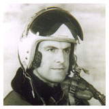 Guy Ghys portrait with helmet