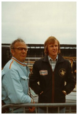 Ronnie Peterson with his father Bengt