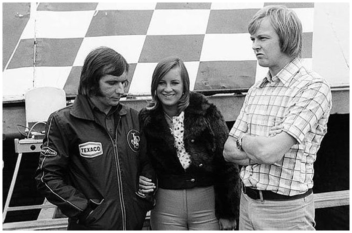 Ronnie Peterson, Emerson and Maria-Helena Fittipaldi.