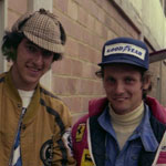 Niki Lauda, posing with my brother Luc