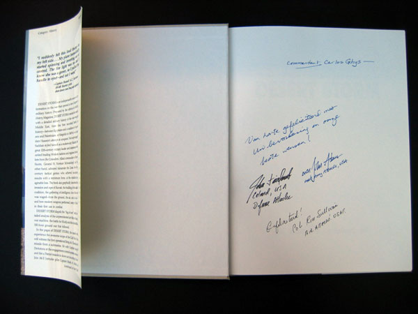 signed book 16