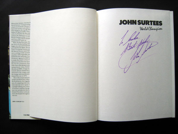 signed book 7