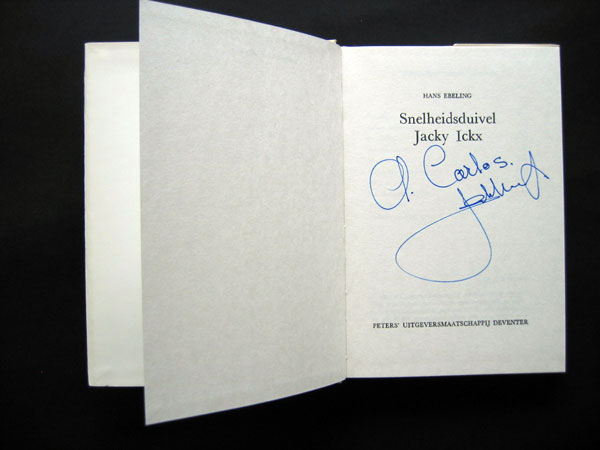 signed book 8