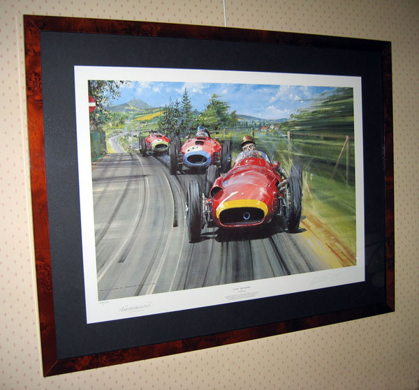 limited edition print Fangio by Watts