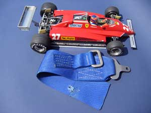 Gilles Villeneuve's Ferrari 126C2 safety belt-1