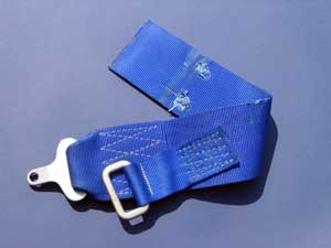 Gilles Villeneuve's Ferrari 126C2 safety belt-2