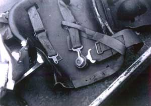 Gilles Villeneuve's Ferrari 126C2 safety belt-3