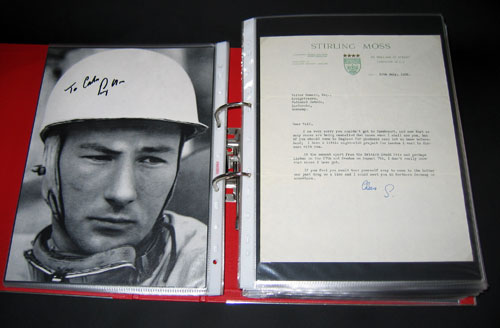 letter Sir Stirling Moss 19