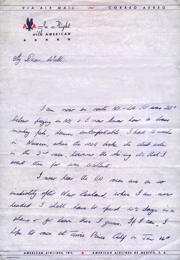letter Sir Stirling Moss 3