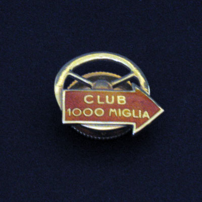 Club Mille Miglia lapel pin-1