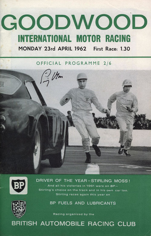 program Goodwood 1962