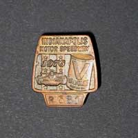 Walt Monaco-31-Indy 500 bronze pit badge