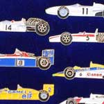 Honda F1 history-pins collection