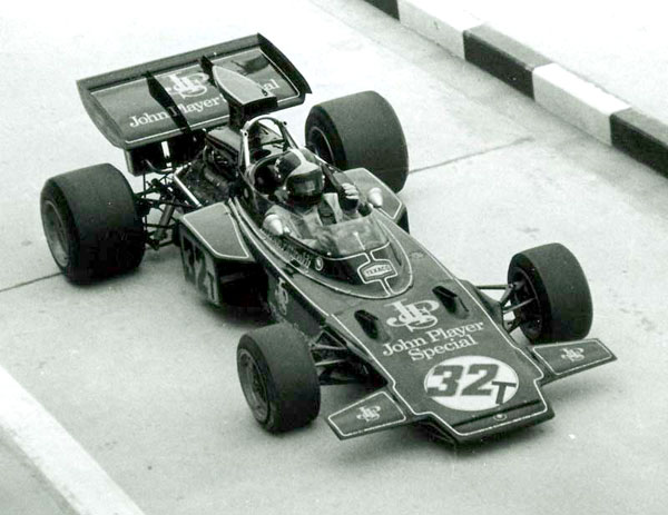 JPS Lotus 72D - Emerson Fittipaldi