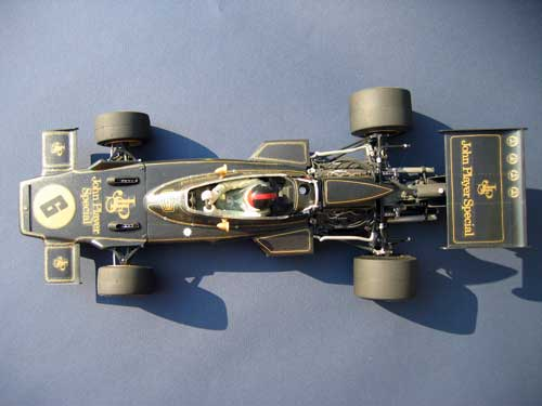 Tamiya 1/12 JPS Lotus 72D of Emerson Fittipaldi