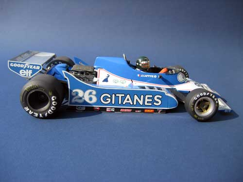 Heller 1/12 Ligier JS11-Ford of Jacques Laffite