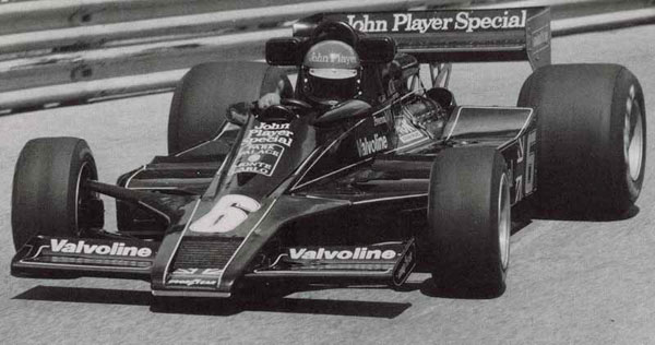 Team Lotus JPS MK III - Ronnie Peterson