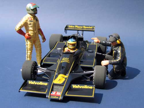 Tamiya 1/12 Team Loyus JPS MK III of Ronnie Peterson